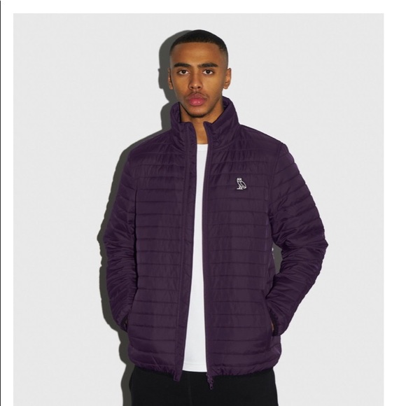 OVO drake purple puffer jacket worn twice
